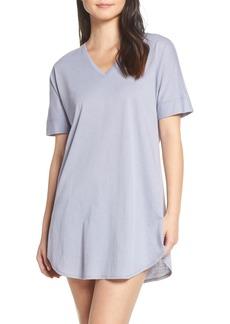 Natori V-Neck Sleep Shirt (Nordstrom Exclusive)