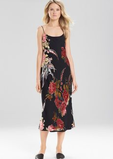Natori Velvet Burnout Gown