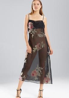 Natori Velvet Rose Gown