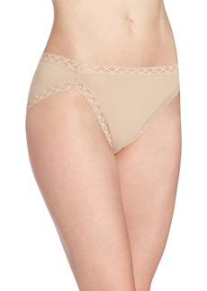 Natori Women's Bliss Cotton French Cut Panty Café
