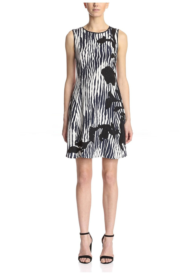 Natori Womens Sleeveless Sheath Dress