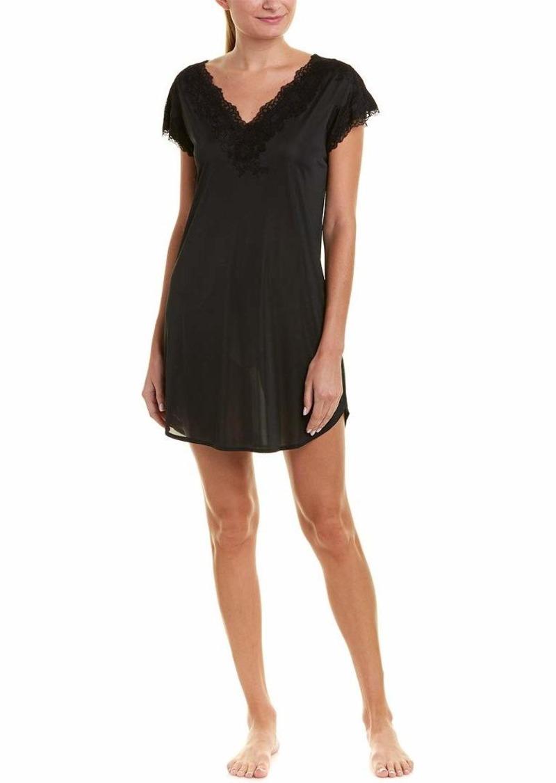 Natori Women's Enchant Slinky Sleepshirt Black XS