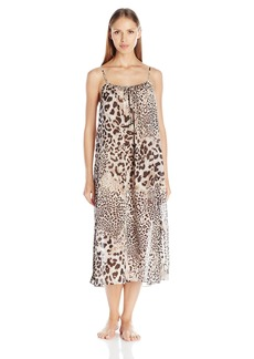 Natori Women's Exotic Animal Gown  L