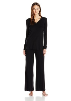 Natori Women's Feathers Essential Long Sleeve Pj
