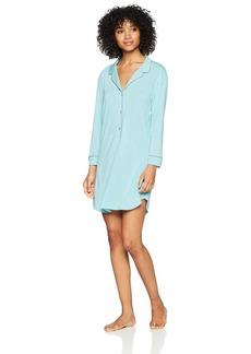 Natori Women's Feathers Knit Sleepshirt  Extra Small