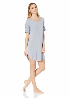 Natori Women's Feathers Knit Sleepshirt  L