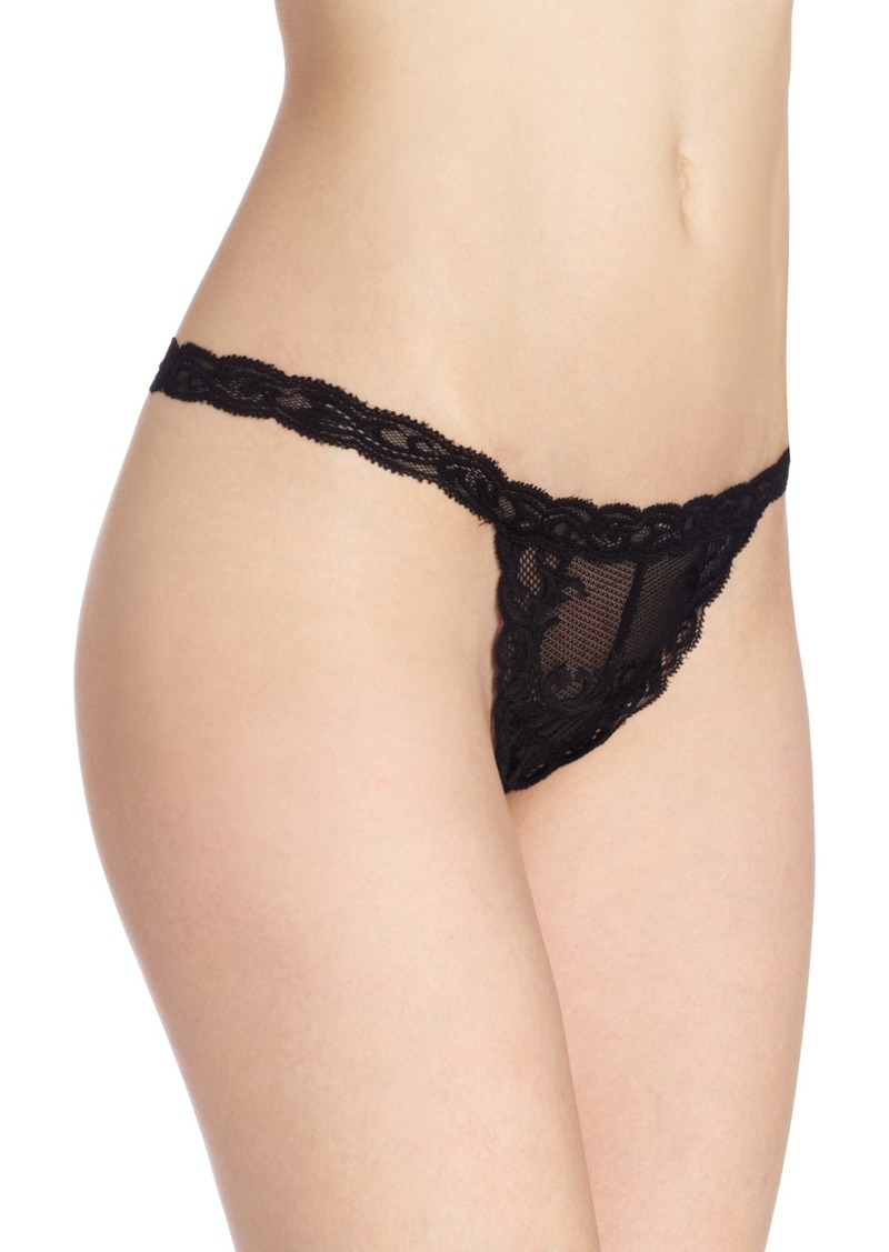 Natori Women's Feathers Thong Panty