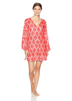 Natori Women's Ikat Diamond Tunic  XL