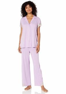 Natori Women's Luxe Shangri-la Pajama  S