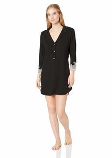 Natori Women's Luxe Shangri-la Sleepshirt  XL