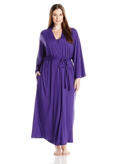 Natori Women's Plus Size Shangrila Solid Knit Gown  1X