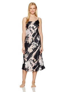 Natori Women's Printed Charmeuse Gown