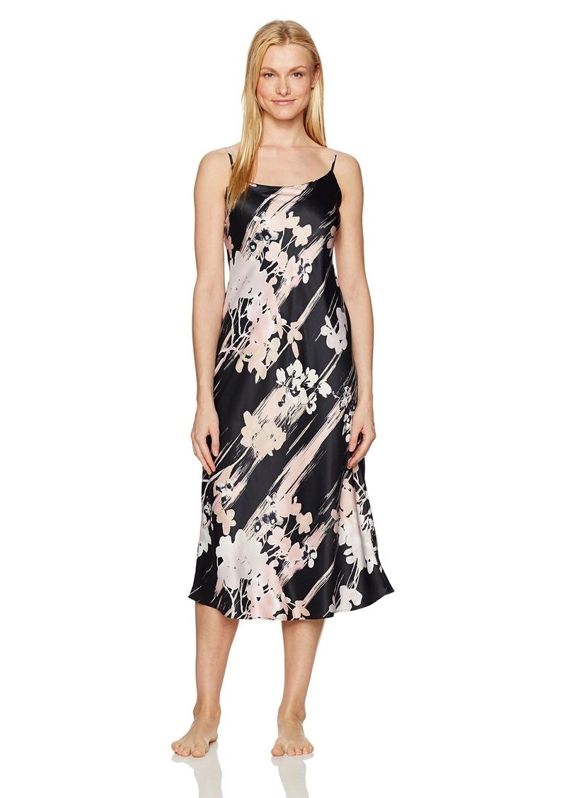 Natori Women's Printed Charmeuse Gown