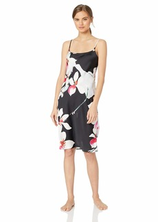 Natori Women's Printed Charmeuse Gown  L
