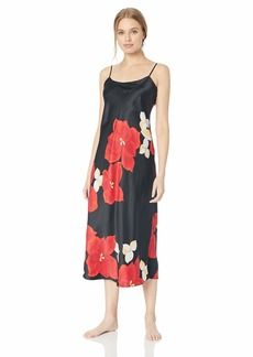 Natori Women's Printed Charmeuse Gown  M