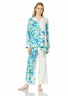 Natori Women's Printed Charmeuse Pajama Set  M