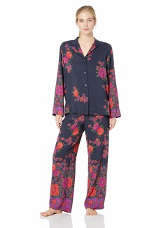 Natori Women's Printed Charmeuse Pajama Set  S