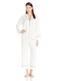 Natori Women's Printed Charmeuse Pajama Set  XL