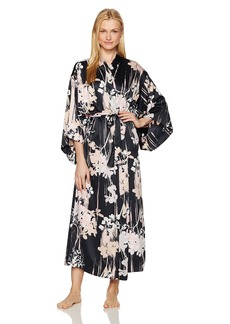 Natori Women's Printed Charmeuse Robe