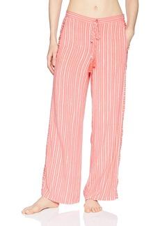 Natori Women's Printed Woven Pant  M