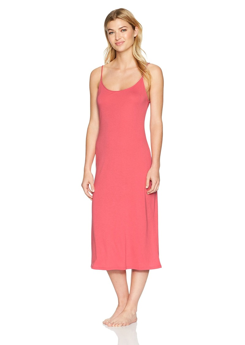 Natori Women's Shangri-La Solid Knit Gown  Extra Large