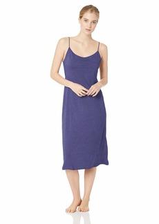 Natori Women's Shangri-La Solid Knit Gown Heather Dark iris S