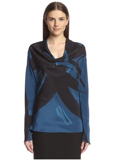 Natori Women's Silk Top  M