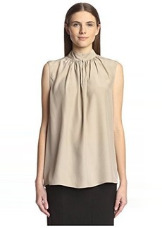 Natori Women's Sleeveless Peasant Top