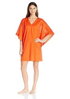 Natori Women's Solid Cotton Texture Tunic