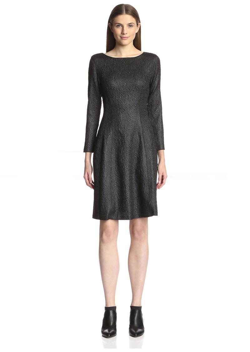 Natori Women's Textured Fit & Flare Dress