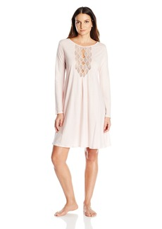Natori Women's Tranquility with Lace Sleepshirt