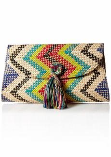 Natori Women's Woven Clutch MULTI O/S