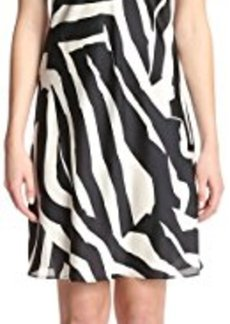 Natori Women's Zebra Chemise  L