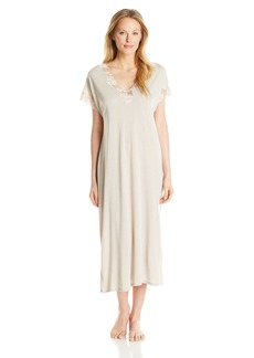 Natori Women's Zen Floral Short Sleeve Nightgown