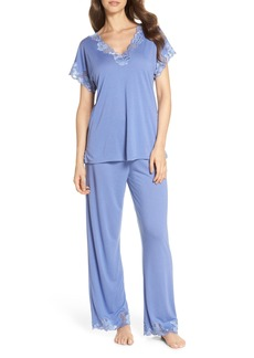 Natori 'Zen Floral' Pajama Set