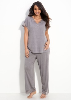 Natori 'Zen Floral' Pajamas (Plus Size)