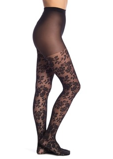 Natori Nouveau Rose Sheer Tights
