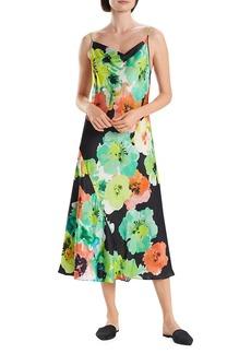 Natori Ophelia Floral Midi Sleep Dress