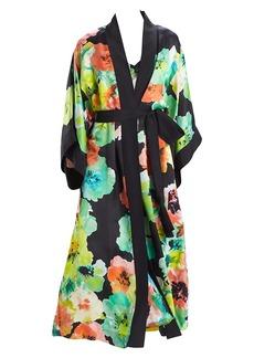 Natori Ophelia Floral Robe