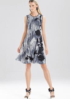 Oriental Ikat Dress