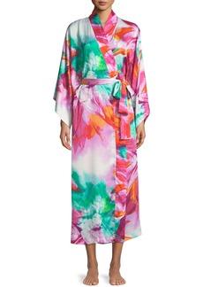 Natori Paraiso Long Kimono Robe