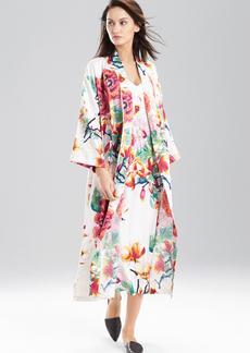 Peony Bouquet Robe
