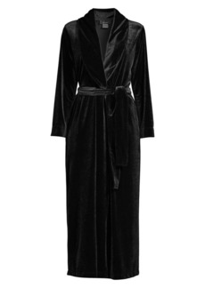 Natori Purple Dove Natalie Velvet Robe