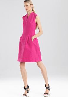 Resort Texture Sleeveless Dress