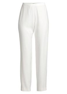 Natori Sanded Twill Side-Zip Pants