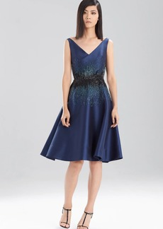 Natori Satin Twill Dress