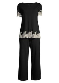 Natori Shangri La 2-Piece Pajama Set