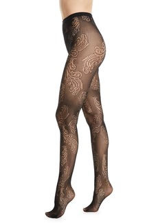 Natori Sheer Feather Net Tights