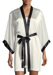 Natori Silk Chiffon Robe