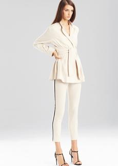 Natori Stretch Cotton Linen Pants